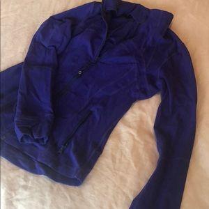Purple Lulu Lemon Jacket